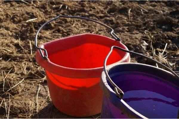 recipientes para té de compost