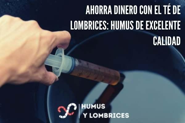 lombrices humus