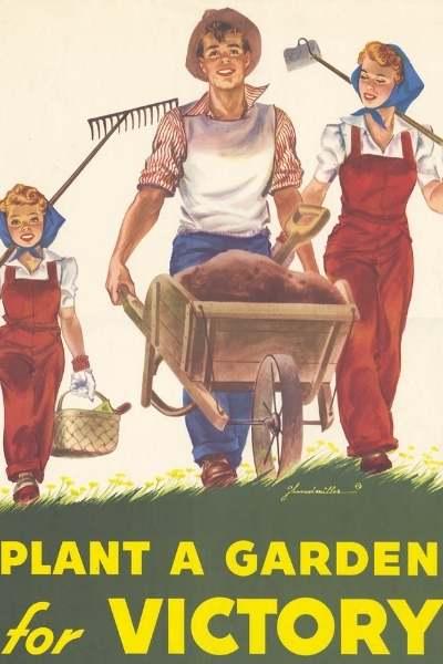 Jardines de la victoria con compost de lombriz